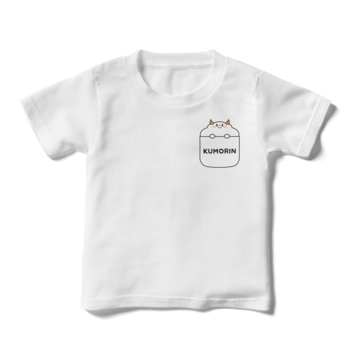 くもりんひょっこりTシャツ